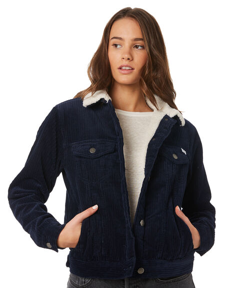 NAVY MARINE WOMENS CLOTHING RVCA JACKETS - R293436NAV