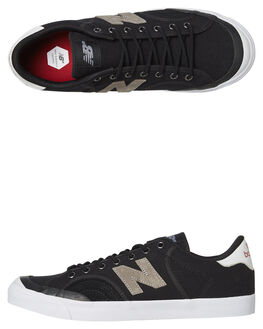 BLACK GREY MENS FOOTWEAR NEW BALANCE SKATE SHOES - NM212GUM