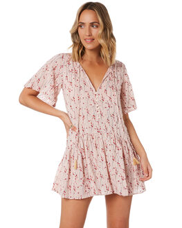 MISTY ROSE WOMENS CLOTHING RUSTY DRESSES - DRL1040MYE