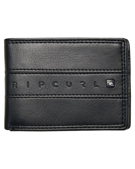 BLACK MENS ACCESSORIES RIP CURL WALLETS - BWUGT30090