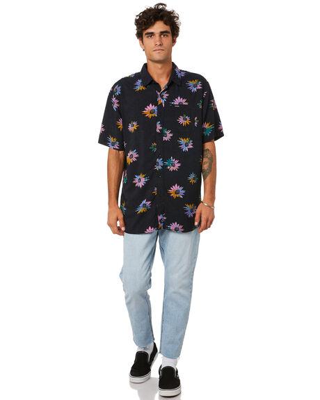 BLACK MENS CLOTHING VOLCOM SHIRTS - A0412104BLK