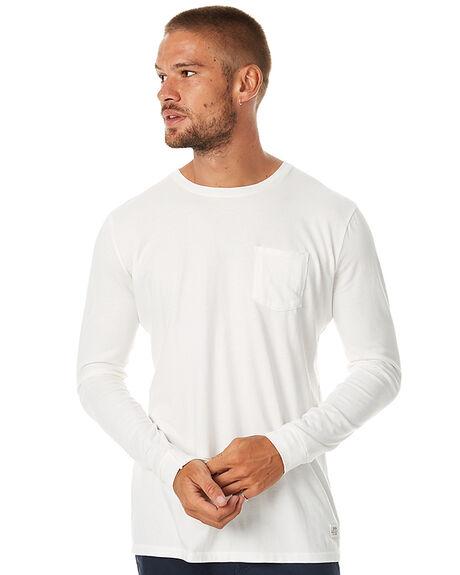 VINTAGE WHITE MENS CLOTHING KATIN TEES - KNBASIF16VWHT