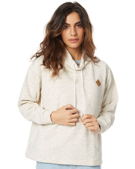 OATMEAL WOMENS CLOTHING RVCA JUMPERS - R271151OAT