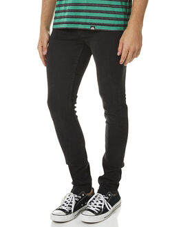 BLACK HAZE MENS CLOTHING CHEAP MONDAY JEANS - 0356733BKHZ