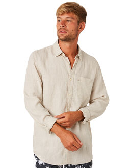 OATMEAL MENS CLOTHING ACADEMY BRAND SHIRTS - BA801OAT