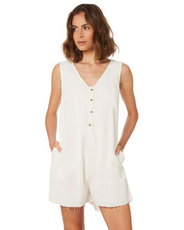 NATURAL WOMENS CLOTHING THRILLS PLAYSUITS + OVERALLS - WTS8-914ANAT