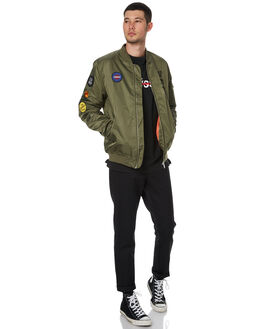MILITARY MENS CLOTHING STUSSY JACKETS - ST076513MIL