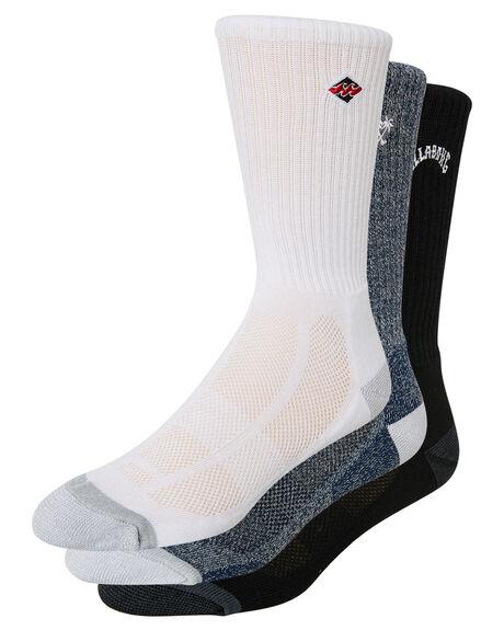 MULTI MENS CLOTHING BILLABONG SOCKS + UNDERWEAR - 9695601AMUL