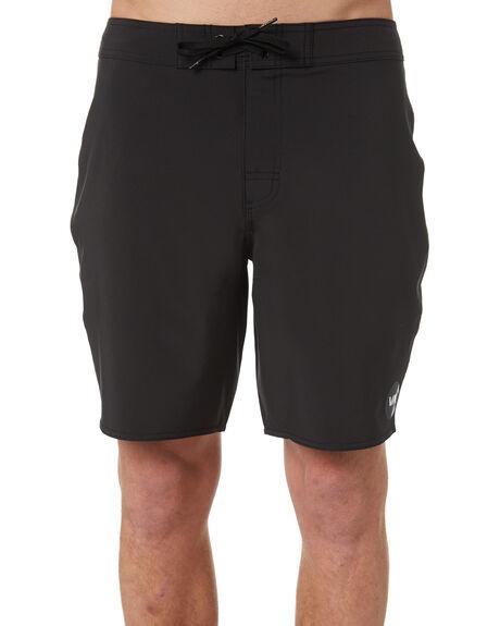 BLACK MENS CLOTHING RVCA BOARDSHORTS - R171412BLK
