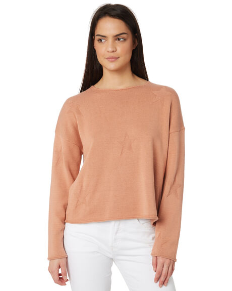 BLUSH WOMENS CLOTHING ELWOOD KNITS + CARDIGANS - W83403-1NO