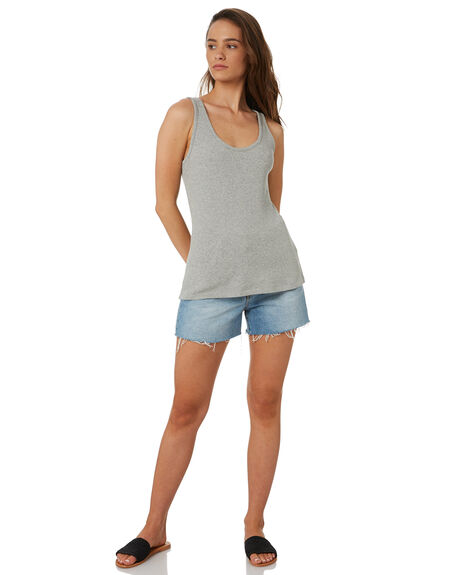 GREY MARLE OUTLET WOMENS SWELL SINGLETS - S8182272GRYMA