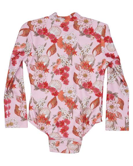 SHELL PINK KIDS GIRLS SEAFOLLY SWIMWEAR - 15693T-222SHPNK
