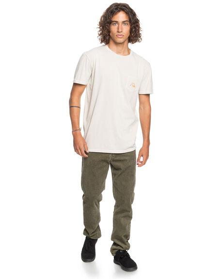 PARCHMENT MENS CLOTHING QUIKSILVER TEES - EQYZT06120-TEC0