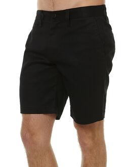 BLACK MENS CLOTHING DEUS EX MACHINA SHORTS - DMP53381BLK