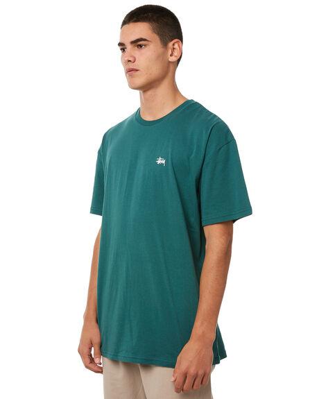 DARK TEAL MENS CLOTHING STUSSY TEES - ST071002DTL