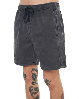 BLACK PIGMENT MENS CLOTHING NO NEWS BOARDSHORTS - N5171232BLKPG
