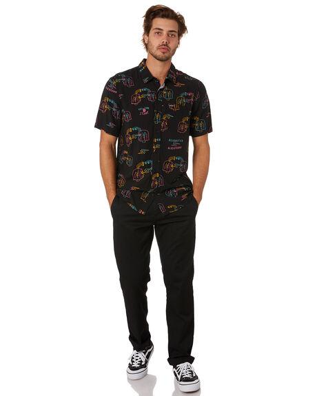 BLACK MENS CLOTHING VOLCOM SHIRTS - A0412003BLK