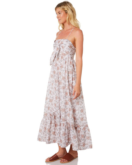 WHITE WOMENS CLOTHING TIGERLILY DRESSES - T395404WHT