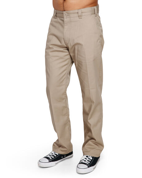 WOOD MENS CLOTHING RVCA PANTS - RV-R191271-WOO