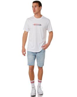 WHITE MENS CLOTHING HUFFER TEES - MTE84S230.400WHT