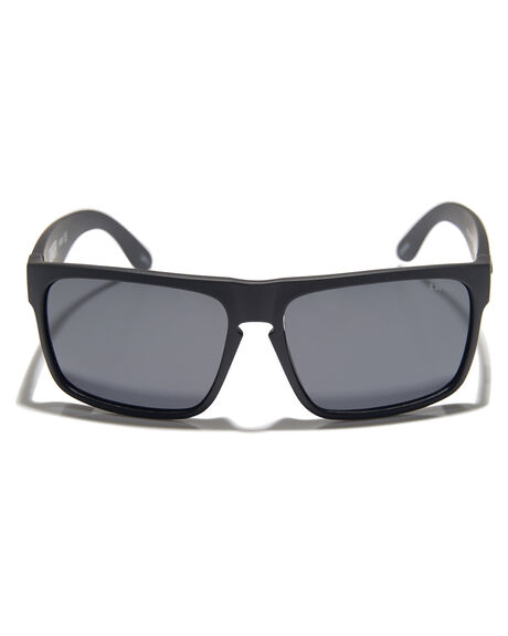 MATTE BLACK MENS ACCESSORIES LIIVE VISION SUNGLASSES - L0535AMTBLK