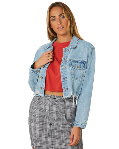 DEL REY WOMENS CLOTHING A.BRAND JACKETS - 71456-2644