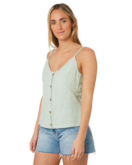 MOSS GREY OUTLET WOMENS SWELL FASHION TOPS - S8202016MOSGY