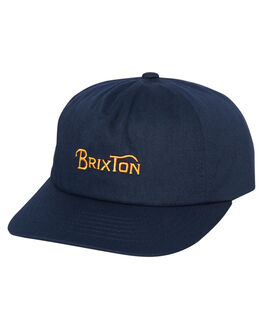 PATRIOT BLUE MENS ACCESSORIES BRIXTON HEADWEAR - 10337PATBL