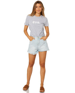 GREY MARLE WOMENS CLOTHING ALL ABOUT EVE TEES - 6405067GRM
