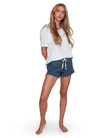 ORION BLUE WOMENS CLOTHING BILLABONG SHORTS - BB-6507276-ION