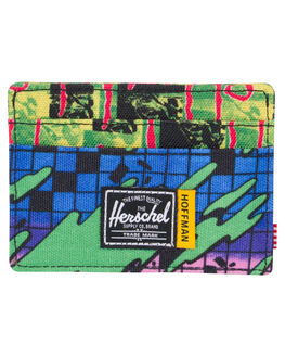 CHECK SURF MENS ACCESSORIES HERSCHEL SUPPLY CO WALLETS - 10360-01946-OSSURF