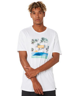 WHITE MENS CLOTHING HURLEY TEES - CN5241100