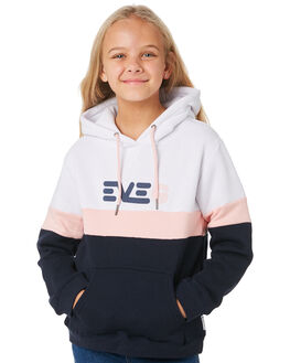 NAVY WHITE PINK KIDS GIRLS EVES SISTER JUMPERS + JACKETS - 9530041NAVY