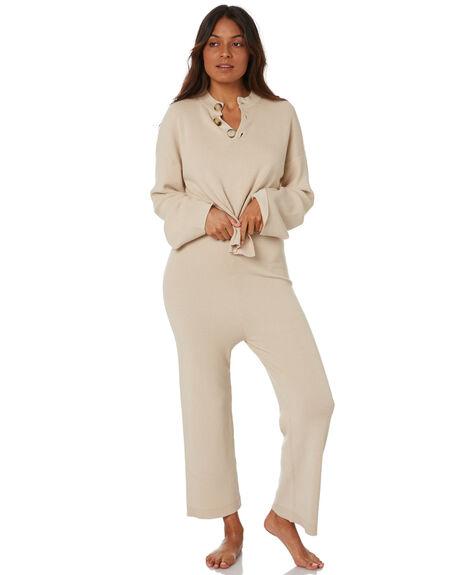 BEIGE WOMENS CLOTHING SNDYS KNITS + CARDIGANS - SET125BGE