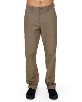 DARK KHAKI MENS CLOTHING BILLABONG PANTS - BB-9591305-DKK