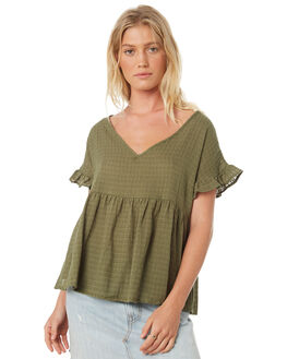 TURTLE WOMENS CLOTHING SASS FASHION TOPS - 13182TWSSTUR
