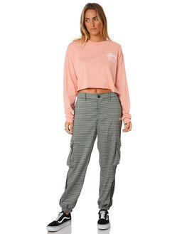 MELON WOMENS CLOTHING STUSSY TEES - ST196012MEL