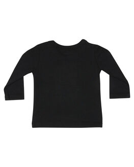 BLACK KIDS BABY ROCK YOUR BABY CLOTHING - BBT196-JSBLK