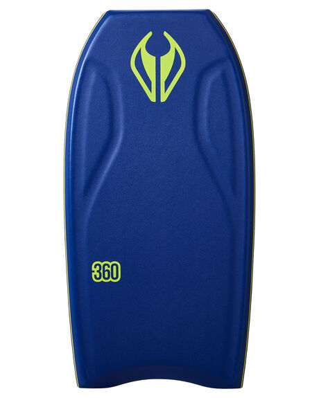 DARK BLUE YELLOW BOARDSPORTS SURF NMD BODYBOARDS BODYBOARDS - NMDTHREEDBLUY