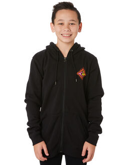 BLACK KIDS BOYS RIP CURL JUMPERS + JACKETS - KFEPP30090