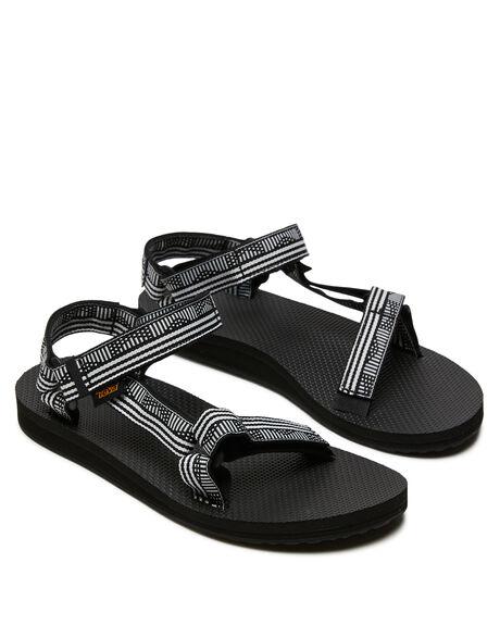 CAMPO BLACK WOMENS FOOTWEAR TEVA FASHION SANDALS - T1003987CBWH