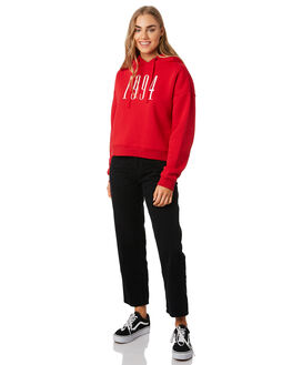 RED WOMENS CLOTHING RPM JUMPERS - 9PWT10B1RED