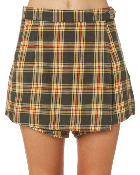 CHECK WOMENS CLOTHING AFENDS SKIRTS - W184901CHE