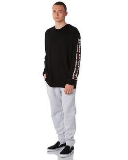 LIGHT GREY MENS CLOTHING STUSSY PANTS - ST086601LGRY