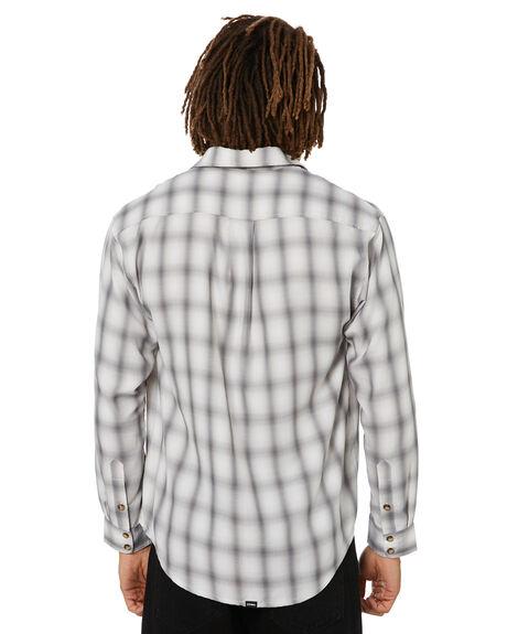FADED GREY MENS CLOTHING THRILLS SHIRTS - TA21-208GFRGY