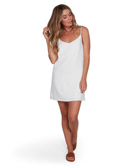 WHITE WOMENS CLOTHING BILLABONG DRESSES - BB-6572476AS-WHT