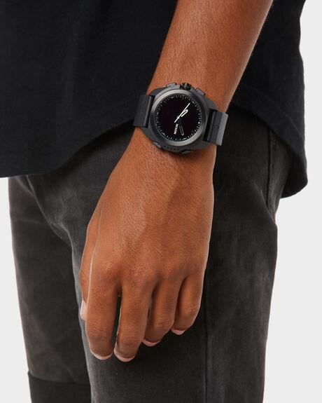 BLACK MENS ACCESSORIES NIXON WATCHES - A1267-000BLK