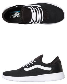 BLACK WHITE MENS FOOTWEAR VANS SNEAKERS - VNA3TKEOS7BLK