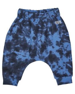 BLUE TIE DYE KIDS BABY ROCK YOUR BABY CLOTHING - BBP182-CEBLUTD