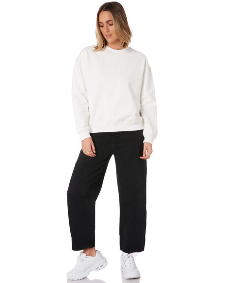 WHITE WOMENS CLOTHING HUFFER JUMPERS - WCR01S8301WHT